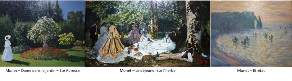 Planche Claude Monet