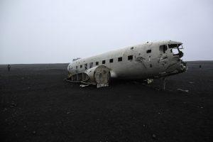 DC3 abandonné