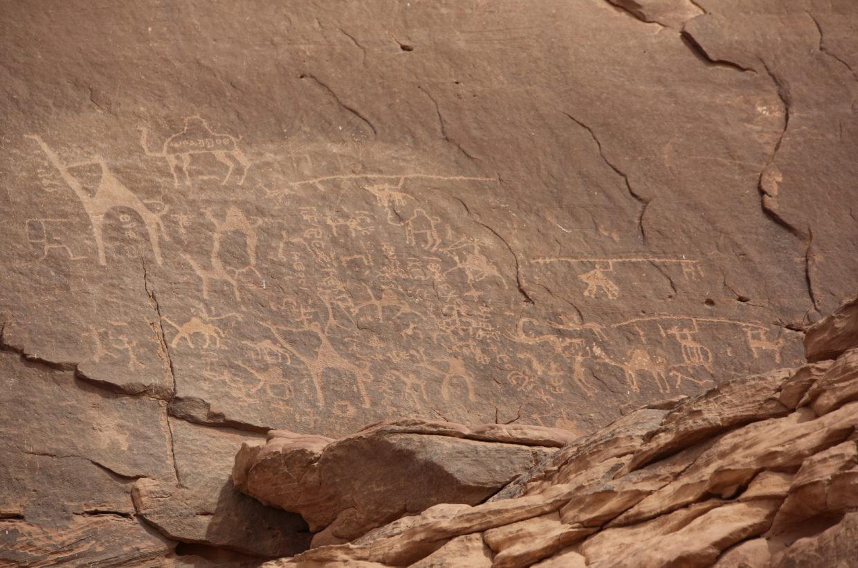 WADI RUM pétroglyphes