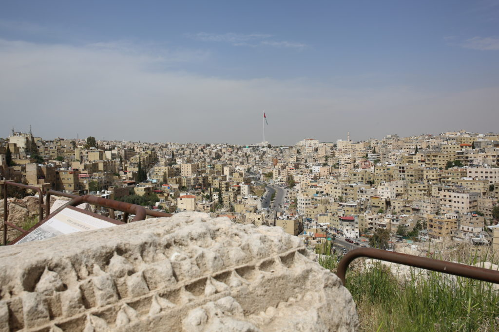 Amman, vue de la Citadelle